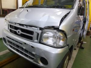 S200V フロント事故